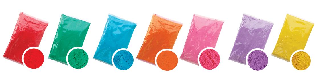 acquistare colori in polvere