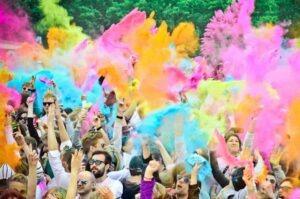 Organizzare una festa dei colori