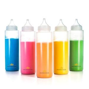 bottigliepolvere colorata